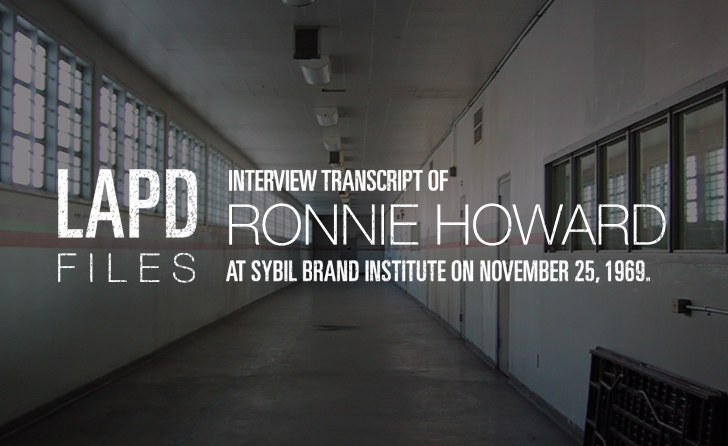ronnie-howard-statement